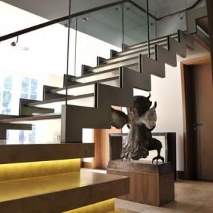 Stilingi laiptai,mediniai