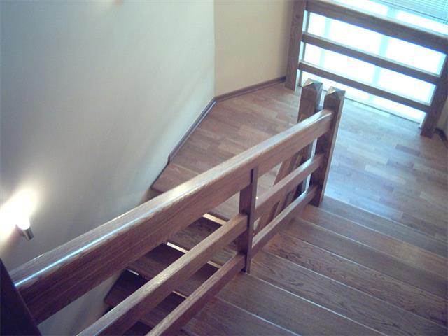 Ограждение для лестницы из дерева своими руками фото 39