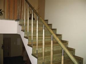 Turėklų gamyba laiptams